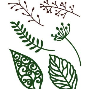 Free leaves templates SVG format