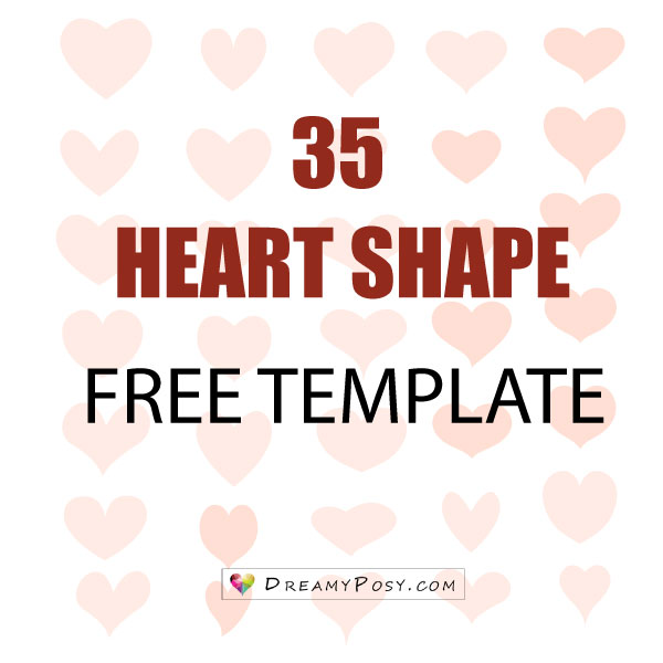 heart shape template