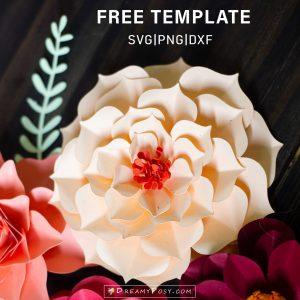 Flower template #2